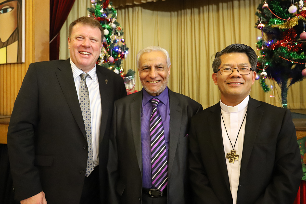 Three faith leaders