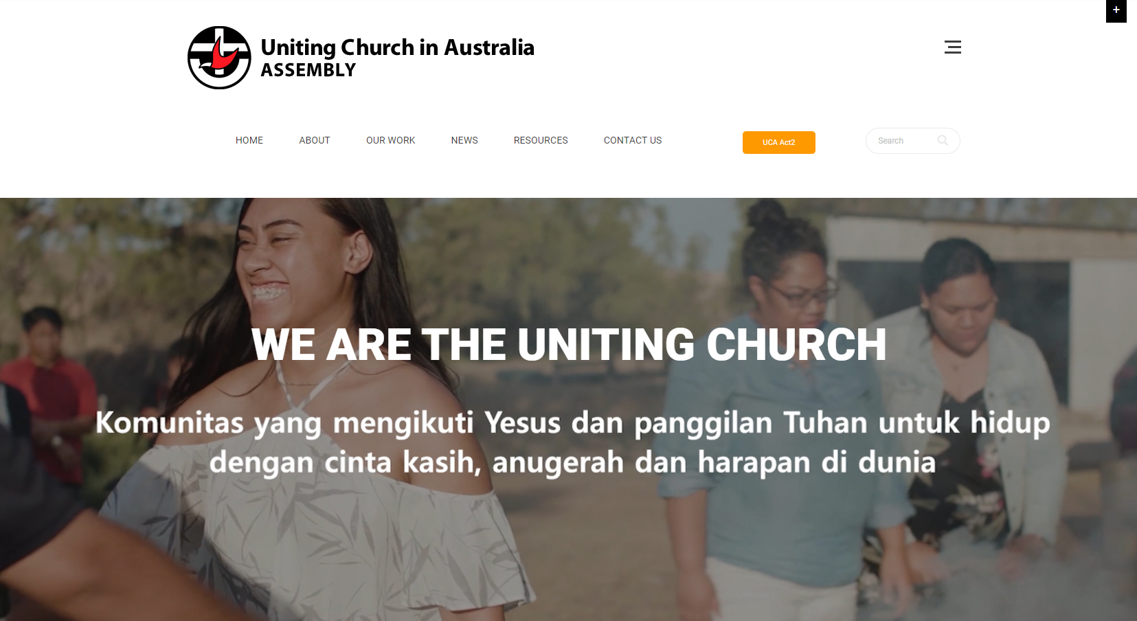 Uniting church Banner For old site